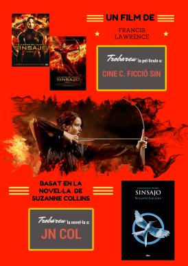 """Pack llibre + pel·lícula: """"Sinsajo"""""""